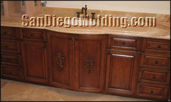 Bathroom Cabinets San Diego kitchen cabinets - san diego molding